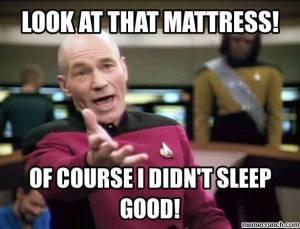 star trek mattress